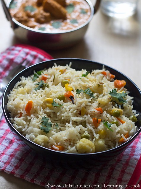 vegetable pulao recipe