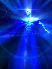 067 Dr. Manhattan Ultraviolet iPhoneography