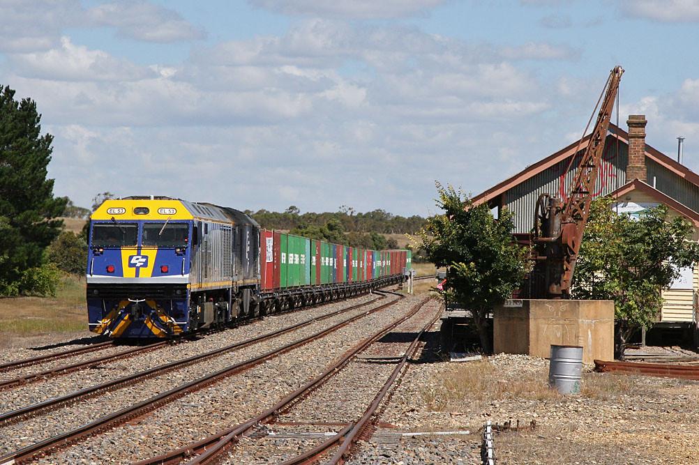 The scrap train by Bingley Hall