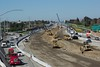 "Update of the construction on Hwy 4 in Antioch, taken from the G Street Bridge. BTW, this was not taken during the ""rush hour"", but at 10:45!"