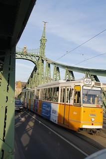 Crossing the Donau