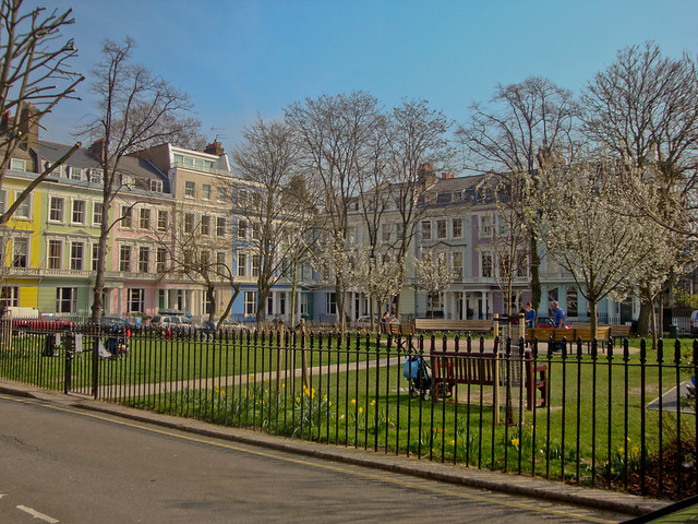 Chalcot Square Gardens