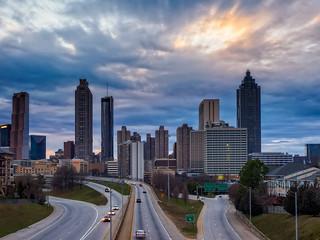 Spring Sunset - Atlanta, GA