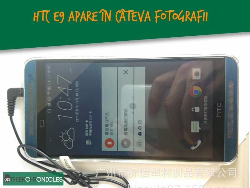 fotografii cu HTC E9 apar online