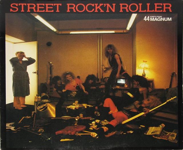 44 MAGNUM STREET ROCK 'N ROLLER + PROMO INSERT
