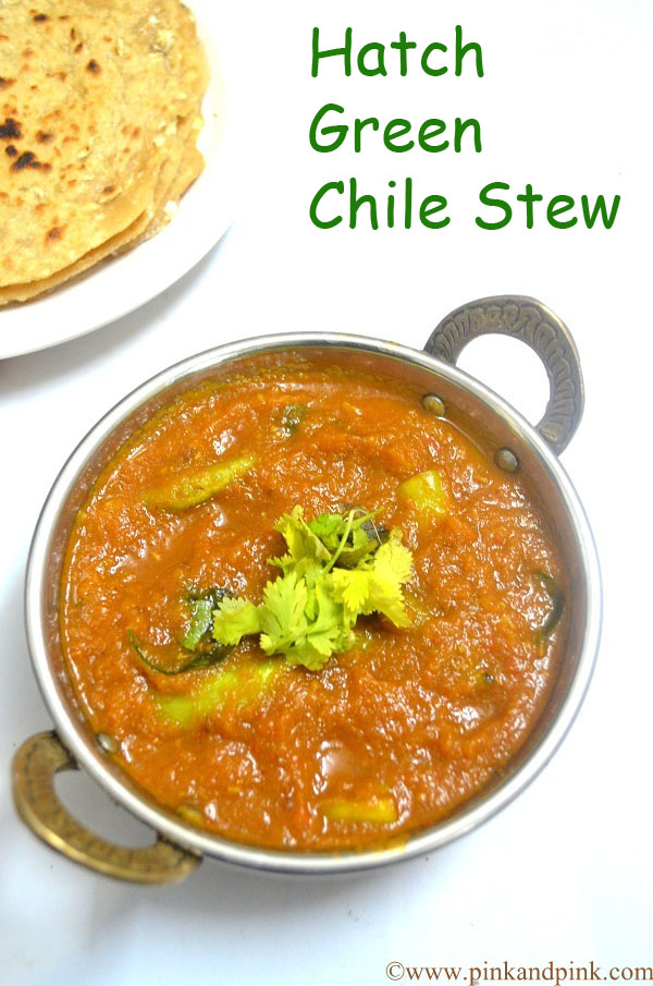 Green Chili stew recipe