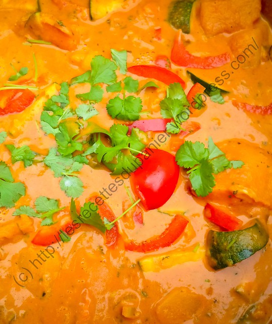 Curry de légumes / Vegetable Curry