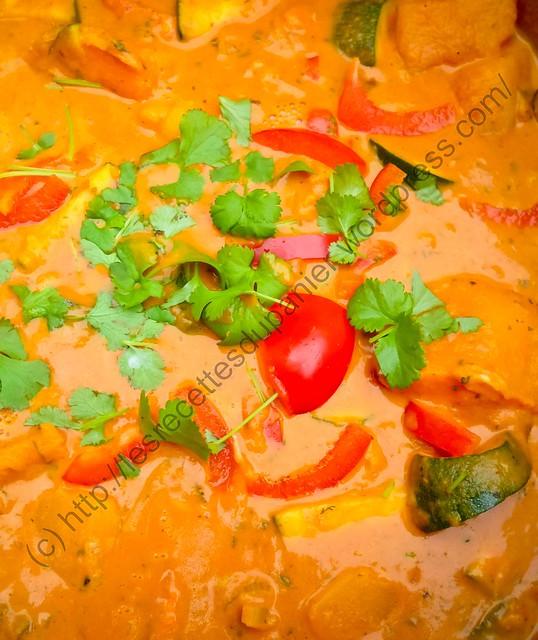Curry de légumes / Vegetable Curry