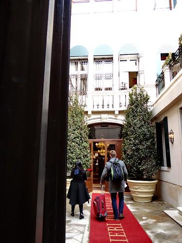 Ich sag nichts zum Hotel in Venedig und Karneval in Venedig bis zu dieser Nacht