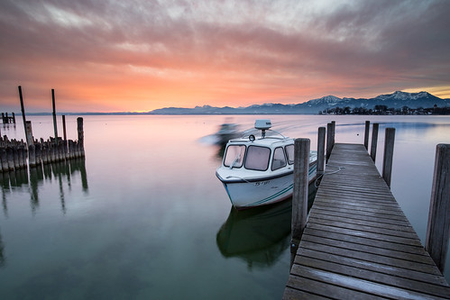 winter lake motion water clouds sunrise canon germany bayern dawn movement jetty ngc chiemsee 6d fraueninsel gstadt canonef1635f4lis