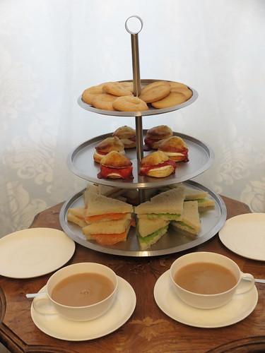 Afternoon tea zur Einweihung unserer neuen Etagere