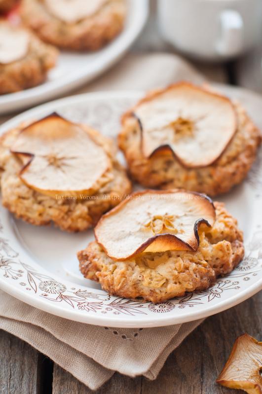 Apple Oat Cookies
