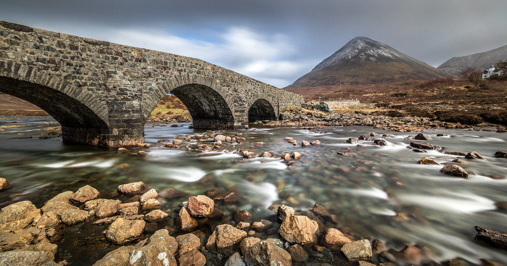 Sligachan bridge, Isle of Skye, Scotland, United Kingdom picture