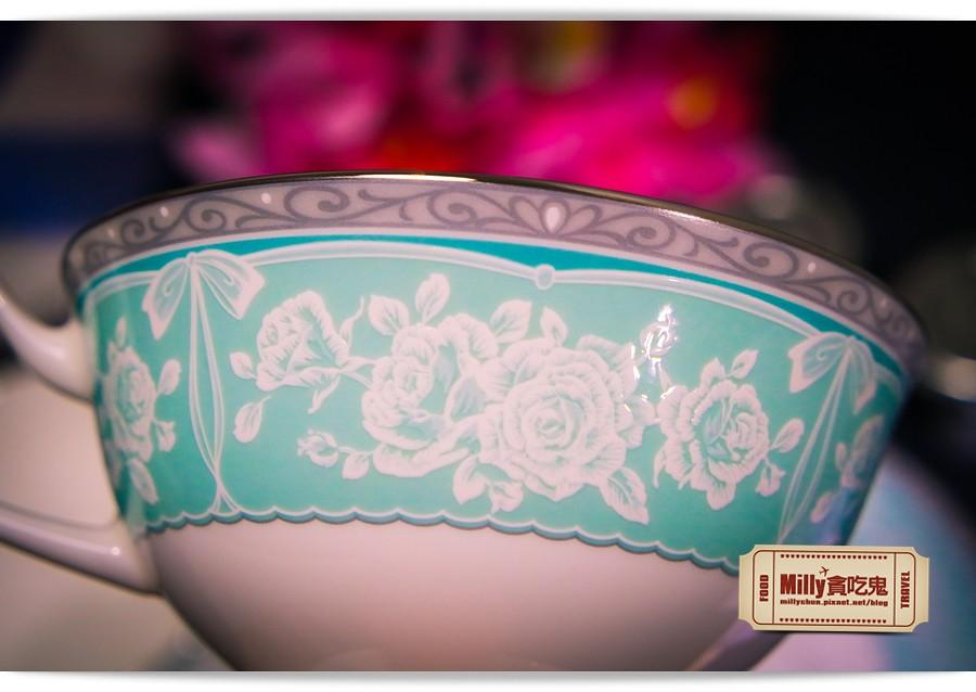 日本NARUMI鳴海骨瓷午茶杯盤組0008