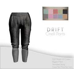 Cinelli Pants ~ Jersey Cotton Set