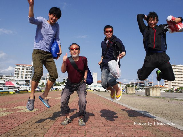 皆でジャンプ!