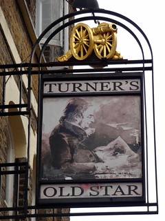 Turners Old Star Pub Sign Wapping