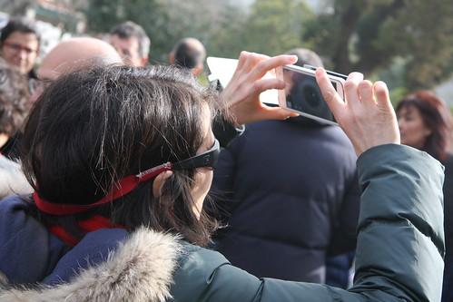 Eclipse 20 marzo 2015 - Imaxe nun móbil