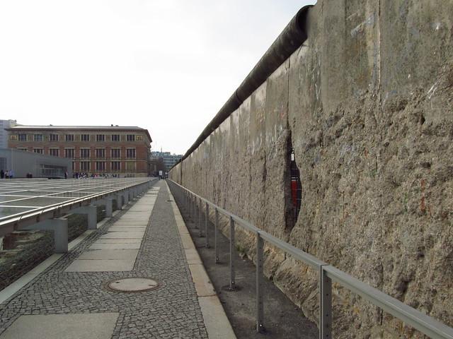 Muro na Topografia do Terror ©Agenda Berlim