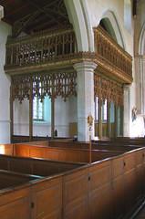north aisle parclose chapel