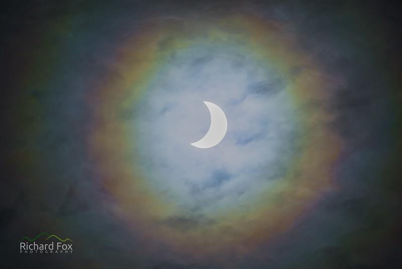 Partial Eclipse Halo