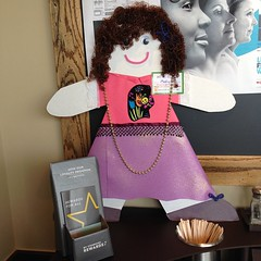 Meet Molly #cardboardkidsSA @starbucksalamoranch #childsafe #raiseawareness