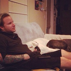 Zach's Instagram: RIP Sweet Belle ... You were one of the sweetest most loving creature's on the planet .... I can't imagine the pain @thebrentsmith and @teresa_xoxo_ have in their hearts .... But I'm glad you're not hurting anymore ..... #FuckCancer