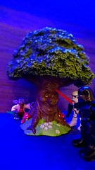 Vader threatening the fairytale tree
