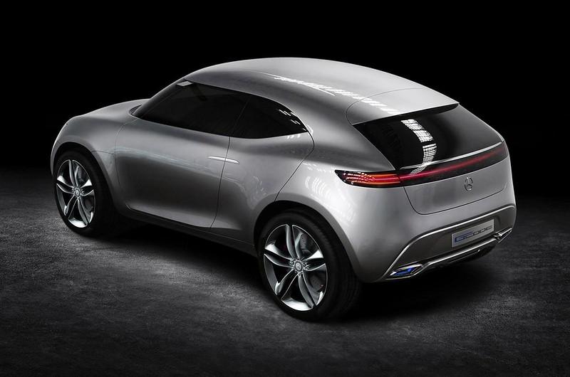 Mercedes-Benz G-Code. Прототип 2014 года