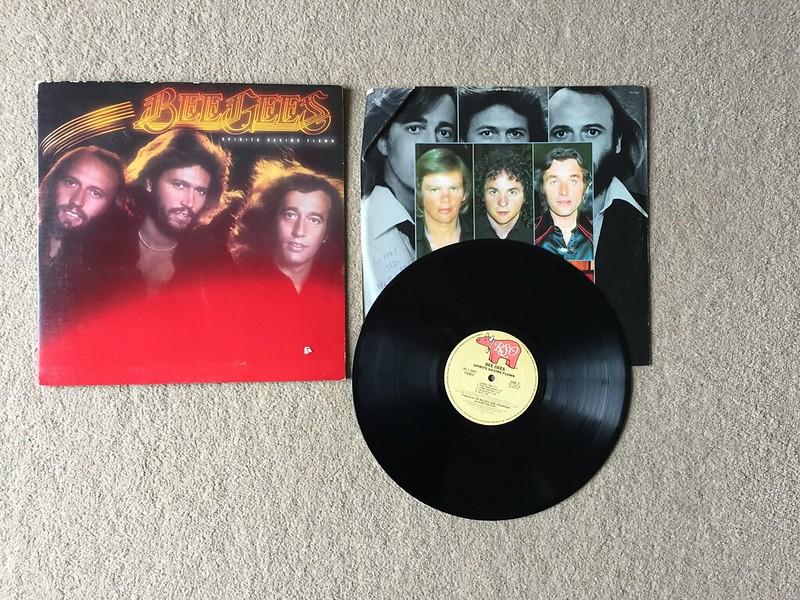 """Bee Gees - 'Spirits Having Flown' 12"""" Vinyl (1979)"""