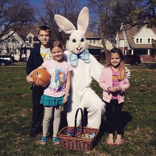 Annual Creepy Easter Bunny picture. #MHK