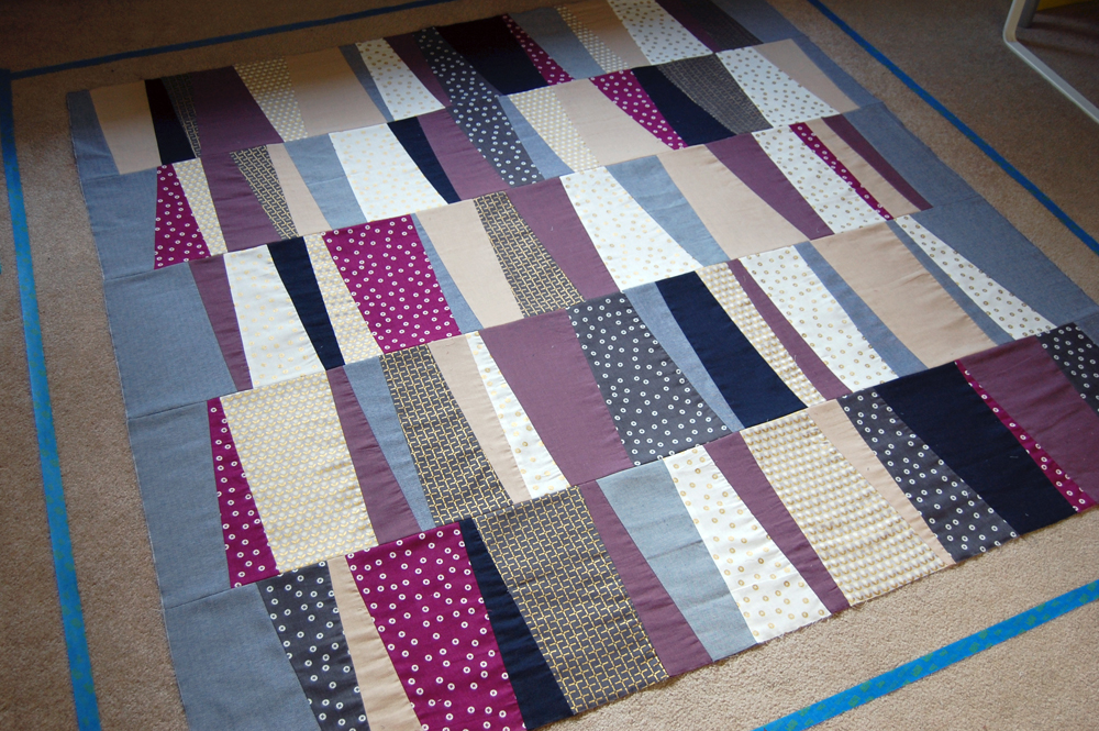 Stacked Tiles Quilt