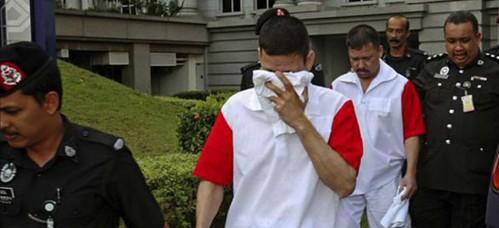Malasia: confirman sentencia de muerte a tres mexicanos acusados de narcotráfico