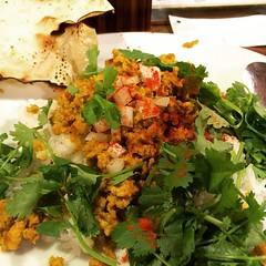dry keema at pannya♡ #keema #curry #pannya #福島 #大阪 #fukushima #osaka #lunch