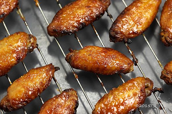 列日糖漿烤雞翅-20150409