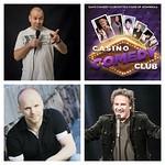 Casino Comedy Night lavalla lauantaina 11.4. Jacke Björklund, Teemu Vesterinen & Matti Patronen! Liput @lippu.fi Tervetuloa #casinohelsinki #comedynight #standup @samihedberg