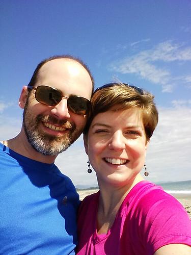 selfie @ Haast Beach