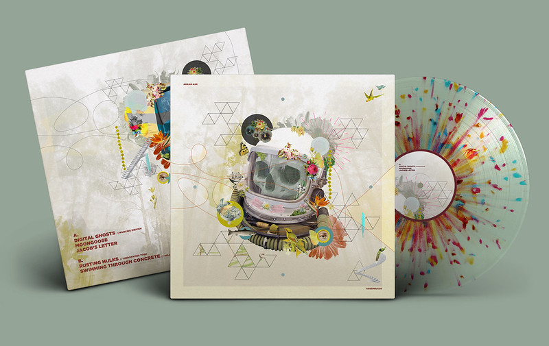 ASSEMBLAGE SPLATTER SEE THROUGH SPLATTER VINYL PACKAGE