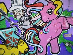 Der kirre Reiter an der Betonburg
