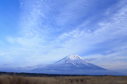 Mt.Fuji from Asagiri Plateau