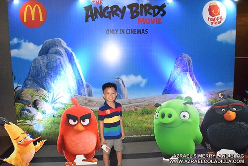 Angry Birds movie screening with McDonalds