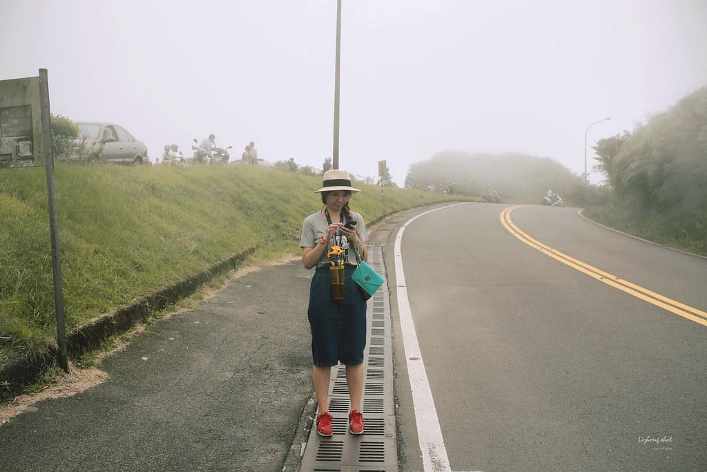 那雲霧裊繞的陽明山小油坑