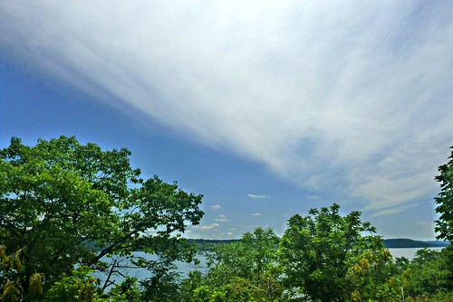 along lake pepin from Wisconsin highway 35-7