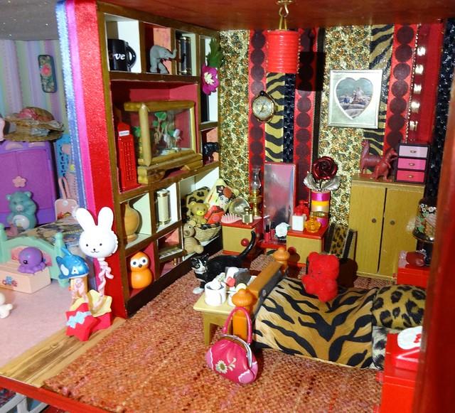 Animal Print Bedroom
