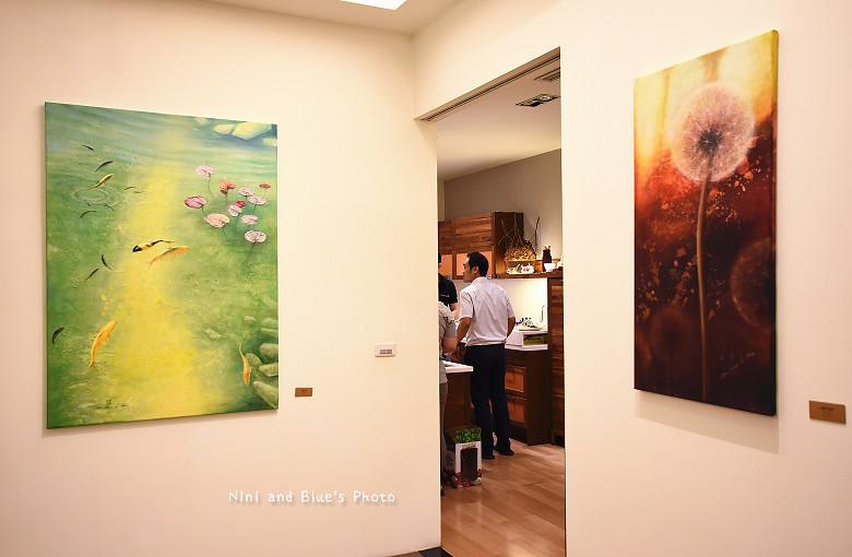 台中環中路家具沙發廚具系統櫃傢櫥周旻虹畫展09