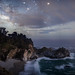 Cloudy Night at McWay Falls by Rick Whitacre