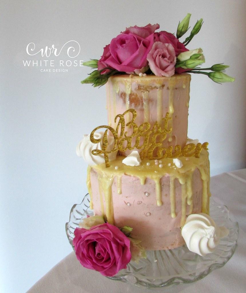 Cake Topper Fresh Flowers