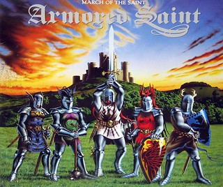 "ARMORED SAINT MARCH OF THE SAINT 12"" Vinyl LP"