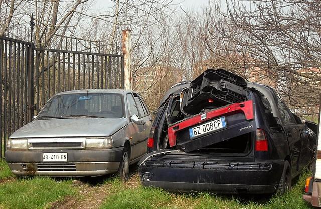 Fiat Tipo 1.6 i.e. SX 1994 - Seat Córdoba Vario 1.4 2002