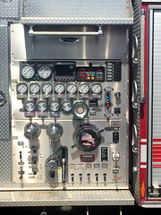 fire truck guages